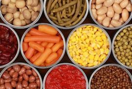 Thực phẩm đóng hộp an toàn đến mức nào?