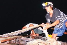 Trắng đêm theo dấu cá bông lau trên sông Hậu, Vàm Nao