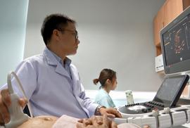 Ra mắt trung tâm chặn bệnh tim từ lúc là bào thai