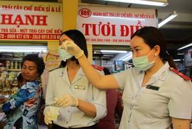 Kiểm tra thực phẩm Tết ở chợ, siêu thị