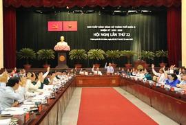 """Ban Thường vụ Thành ủy TP HCM giám sát  tiến độ 19 nhiệm vụ """"nóng"""""""