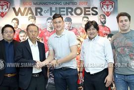 Đặng Văn Lâm sang Thái Lan, ra mắt Muangthong United mùng 2 Tết