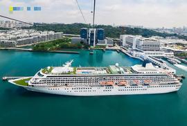 Tàu khách khổng lồ sắp cập bến Bà Rịa - Vũng Tàu
