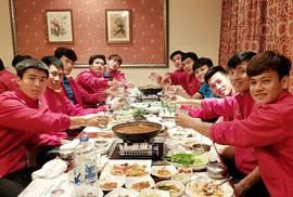 Chuyện bữa ăn của các học trò HLV Park