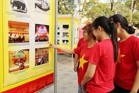 Triển lãm ảnh chào mừng 90 năm thành lập Công đoàn Việt Nam