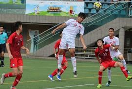 U18 Việt Nam chỉ về nhì ở giải Quốc tế Hồng Kông 2019