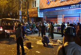 """Xe """"điên"""" gây tai nạn liên hoàn trên phố, nhiều người thương vong"""