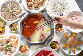 """Ra mắt """"Đào Hoa"""" – mô hình Buffet lẩu Đài Loan chạy chuyền all in one"""