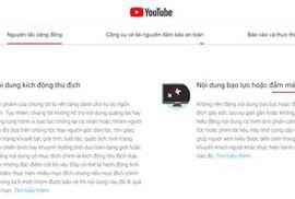 """YouTube có tiếp tay cho """"giang hồ mạng""""?"""