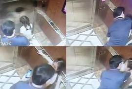Vụ ôm hôn bé gái trong thang máy chung cư: Virus 200.000 đồng lây lan?