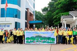 C.P. Việt Nam hưởng ứng chiến dịch Ngày Trái đất 2019