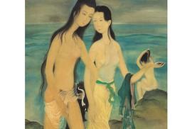 Hai bức tranh của Lê Phổ bán hơn 44 tỉ đồng