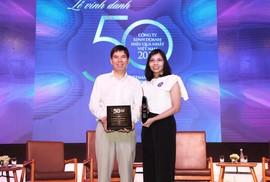 """Thế Giới Di Động lần 3 dẫn đầu Top """"50 công ty kinh doanh hiệu quả nhất Việt Nam"""""""
