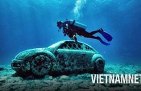 Chiêm ngưỡng bảo tàng dưới biển độc nhất vô nhị ở Mexico