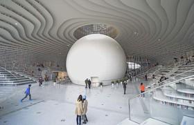 Thư viện khổng lồ ở Trung Quốc có sức chứa 1,2 triệu cuốn sách