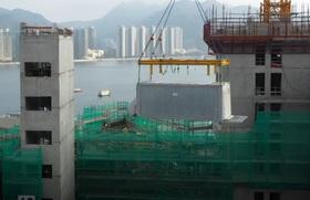 Công nghệ lắp ghép căn hộ cao tầng độc đáo ở Hong Kong