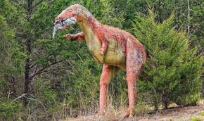 Ám ảnh công viên khủng long bị bỏ hoang