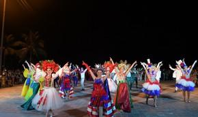 Phố xá Đà Nẵng cuối tuần rực rỡ Carnaval DIFF 2018