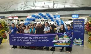IndiGo mở đường bay TP Kolkata (Ấn Độ) - TP HCM