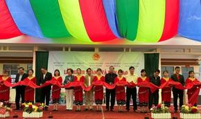 Bàn giao Công trình Bể chứa nước và Nhà vệ sinh tại tỉnh Lạng Sơn
