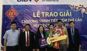 Gửi tiết kiệm dịp Tết ở BIDV, bất ngờ trúng 500 triệu đồng