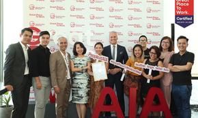 AIA Việt Nam: Nơi có môi trường làm việc lý tưởng