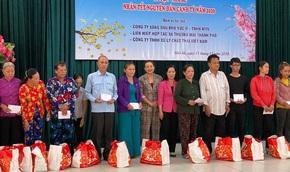 VWS chung tay chăm lo Tết cho người nghèo ở Nhà Bè
