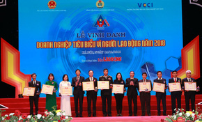 """BIDV xuất sắc nhận giải """"Doanh nghiệp tiêu biểu vì Người lao động"""""""