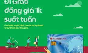 Cùng thẻ Agribank đi Grab 1.000 đồng suốt tuần