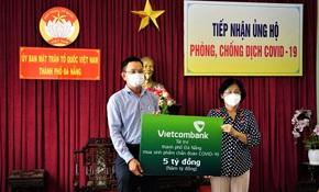 Vietcombank ủng hộ Đà Nẵng 5 tỉ đồng đẩy lùi Covid-19