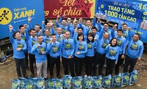 Sức lan tỏa từ chương trình 'Tết sẻ chia' - ngàn tấn gạo trao khắp Việt Nam
