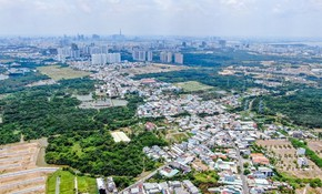 """Nhà phố đô thị vệ tinh Long An - """"đích ngắm"""" của giới đầu tư"""