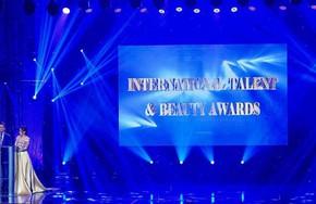 Trao thưởng tại International Talent & Beauty Awards 2018