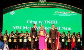 Công ty MM Mega Market Việt Nam được vinh danh