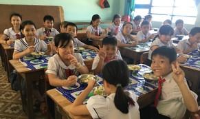 Quảng Ngãi triển khai dự án Bữa ăn Học đường cho học sinh tiểu học