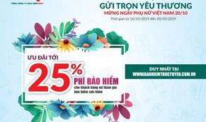 BIC giảm tới 25% phí bảo hiểm sức khỏe nhân ngày Phụ nữ Việt Nam