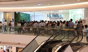 Sức hút của Kymdan trong ngày Black Friday ở Crescent Mall Phú Mỹ Hưng