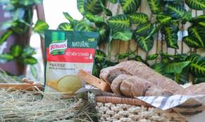 Knorr ra mắt sản phẩm bột nêm có nguồn gốc tự nhiên