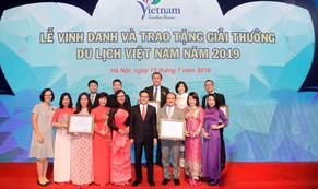 Lữ hành Saigontourist tiếp tục được vinh danh 4 Giải thưởng du lịch Việt Nam năm 2019