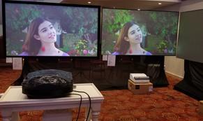 Màn chiếu Hàn Quốc Exzen được phân phối chính thức tại Việt Nam