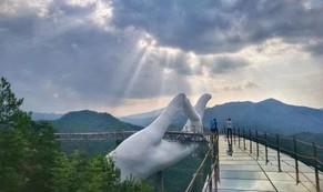 Bản sao cầu Vàng, tháp Eiffel ở Trung Quốc gây chú ý mạng