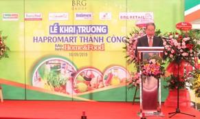 Siêu thị Hapromart Thành Công đi vào hoạt động theo mô hình Hapromart Home & Food.