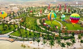Dương Triệu Vũ bay khinh khí cầu đón Tết giữa TP HCM