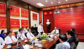 Bí thư Nguyễn Thiện Nhân thăm và chúc Tết Công ty Du lịch Vietravel