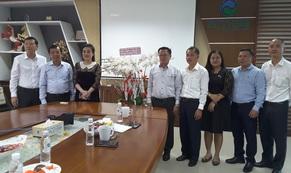 Ủy ban về người Việt Nam ở nước ngoài TP HCM thăm và chúc Tết VWS