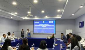 Một công ty tại KCX Kizuna được trao chứng nhận doanh nghiệp khoa học & công nghệ