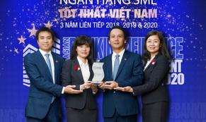 """BIDV tiếp tục là """"Ngân hàng SME tốt nhất Việt Nam"""""""