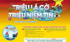 Nam A Bank chung tay bảo vệ biển đảo Việt Nam