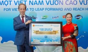 Sữa Cô Gái Hà Lan đầu tư 55 tỉ đồng vào giáo dục và xây dựng nền tảng dinh dưỡng, thể chất cho học sinh