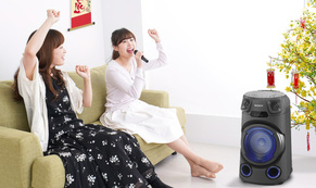 Về nhà ăn tết, đừng quên sắm loa Karaoke Sony